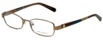 Tory Burch Designer Eyeglasses TY1027-116 in Rose Gold 52mm :: Rx Bi-Focal