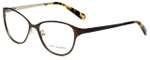 Tory Burch Designer Eyeglasses TY1030-434 in Light Brown Gold 53mm :: Rx Bi-Focal