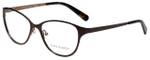 Tory Burch Designer Eyeglasses TY1030-435 in Dark Brown Taupe 51mm :: Rx Bi-Focal