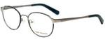 Tory Burch Designer Eyeglasses TY1034-128 in Silver Denim 51mm :: Rx Bi-Focal