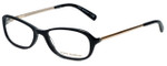 Tory Burch Designer Eyeglasses TY2004-501 in Black 52mm :: Rx Single Vision