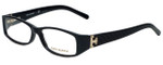 Tory Burch Designer Eyeglasses TY2017-501-53 in Black Tortoise 53mm :: Rx Single Vision