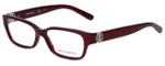 Tory Burch Designer Eyeglasses TY2025-1080-53 in Burgundy 53mm :: Rx Single Vision