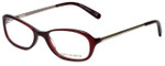 Tory Burch Designer Eyeglasses TY2004-835 in Burgundy 50mm :: Progressive