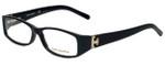 Tory Burch Designer Eyeglasses TY2017-501-53 in Black Tortoise 53mm :: Progressive