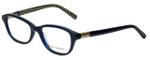 Tory Burch Designer Eyeglasses TY2042-1304 in Navy 51mm :: Progressive