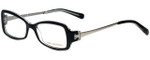 Tory Burch Designer Eyeglasses TY2012-541 in Black Crystal 51mm :: Rx Bi-Focal