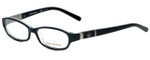 Tory Burch Designer Eyeglasses TY2014-923 in Black Blue 52mm :: Rx Bi-Focal