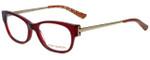 Tory Burch Designer Eyeglasses TY2035-878 in Burgundy 50mm :: Rx Bi-Focal