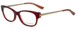 Tory Burch Designer Eyeglasses TY2035-878 in Burgundy 50mm :: Rx Bi-Focal