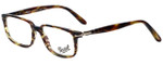 Persol Designer Eyeglasses PO3013V-938 in Green Striped Brown 51mm :: Rx Bi-Focal