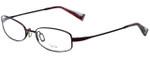 Oliver Peoples Designer Eyeglasses Doren-BOR in Bordeaux 51mm :: Rx Single Vision