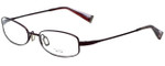 Oliver Peoples Designer Eyeglasses Doren-BOR in Bordeaux 51mm :: Rx Bi-Focal