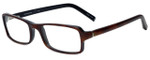 Jones New York Designer Eyeglasses J501 in Tortoise Black 51mm :: Rx Single Vision