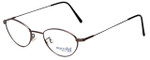 Marcolin Designer Eyeglasses 6395-54 in Brown 49mm :: Custom Left & Right Lens