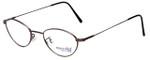 Marcolin Designer Eyeglasses 6395-54 in Brown 49mm :: Rx Bi-Focal