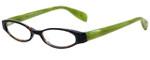 Scojo Pearl St Designer Reading Glasses in Tortoise Green