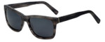 Vivid Polarized Retro Sunglasses 798S in Matte Grey with Grey Lens