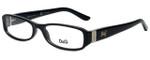 Dolce & Gabbana Designer Eyeglasses DD1153-501 in Black 52mm :: Custom Left & Right Lens