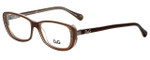 Dolce & Gabbana Designer Eyeglasses DD1226-1981 in Brown 50mm :: Custom Left & Right Lens