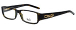 Dolce & Gabbana Designer Eyeglasses DD1132-502 in Havana 52mm :: Rx Single Vision
