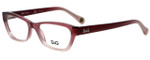 Dolce & Gabbana Designer Eyeglasses DD1216-1857 in Plum Gradient 50mm :: Rx Single Vision