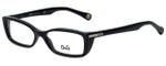 Dolce & Gabbana Designer Eyeglasses DD1219-501 in Black 51mm :: Rx Single Vision