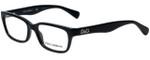 Dolce & Gabbana Designer Eyeglasses DD1249-501 in Black 51mm :: Rx Single Vision