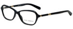 Dolce & Gabbana Designer Eyeglasses DD3145-1963 in Black Marble 53mm :: Rx Single Vision