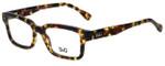 Dolce & Gabbana Designer Eyeglasses DD1176-814-52 in Dark Havana 52mm :: Progressive