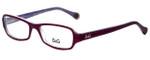Dolce & Gabbana Designer Eyeglasses DD1201-1766 in Violet 52mm :: Rx Bi-Focal