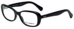 Dolce & Gabbana Designer Eyeglasses DD1247-501 in Black 52mm :: Rx Bi-Focal