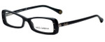 Dolce & Gabbana Designer Reading Glasses DD1227-501 in Black 51mm