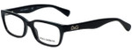 Dolce & Gabbana Designer Reading Glasses DD1249-501 in Black 51mm