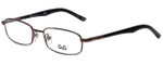 Dolce & Gabbana Designer Eyeglasses DD5062-152 in Brown 52mm :: Progressive