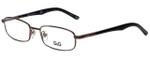 Dolce & Gabbana Designer Eyeglasses DD5062-152 in Brown 52mm :: Rx Bi-Focal