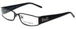 Dolce & Gabbana Designer Reading Glasses DD5010-064 in Black 50mm