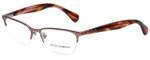Dolce & Gabbana Designer Eyeglasses DD5113-1137-50 in Rose 52mm :: Custom Left & Right Lens