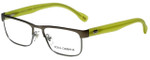 Dolce & Gabbana Designer Eyeglasses DD5103-1239 in Gunmetal 52mm :: Rx Single Vision