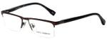 Dolce & Gabbana Designer Eyeglasses DD5104-152-52 in Brown 52mm :: Rx Bi-Focal