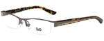 Dolce & Gabbana Designer Eyeglasses DD5069-352 in Gunmetal 52mm :: Custom Left & Right Lens