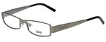 Dolce & Gabbana Designer Eyeglasses DD5031-04-52 in Gunmetal 52mm :: Rx Single Vision