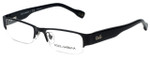 Dolce & Gabbana Designer Eyeglasses DD5074-064 in Black 50mm :: Rx Single Vision