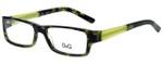 Dolce & Gabbana Designer Eyeglasses DD1181-977 in Green Tortoise 51mm :: Progressive
