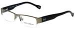 Dolce & Gabbana Designer Eyeglasses DD5074-090-50 in Gunmetal Tortoise 50mm :: Progressive