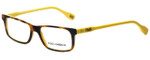 Dolce & Gabbana Designer Eyeglasses DD1244-2606 in Havana on Yellow 51mm :: Rx Bi-Focal