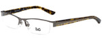 Dolce & Gabbana Designer Eyeglasses DD5069-352 in Gunmetal 52mm :: Rx Bi-Focal
