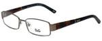 Dolce & Gabbana Designer Eyeglasses DD5073-441-51 in Gunmetal 51mm :: Rx Bi-Focal