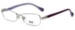 Dolce & Gabbana Designer Eyeglasses DD5096-1068 in Silver Purple 51mm :: Rx Bi-Focal