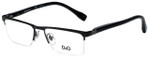 Dolce & Gabbana Designer Eyeglasses DD5104-064 in Black 50mm :: Rx Bi-Focal